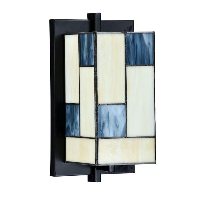 Tiffany Wandlamp Mondriaan Uit