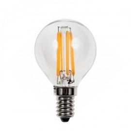 Wiva Wire Led Kogellamp 4W E14 2500K Helder glas 350 Lumen 10 stuks