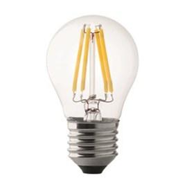 Wiva Wire Led Kogellamp 4W E27 2500K Helder glas, 350 Lumen 10 stuks