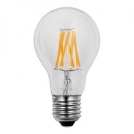 Wiva Wire Led Kogellamp 6W E27 2500K Helder glas, 580 Lumen 10 stuks