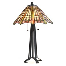 Tiffany Tafellamp Plissé