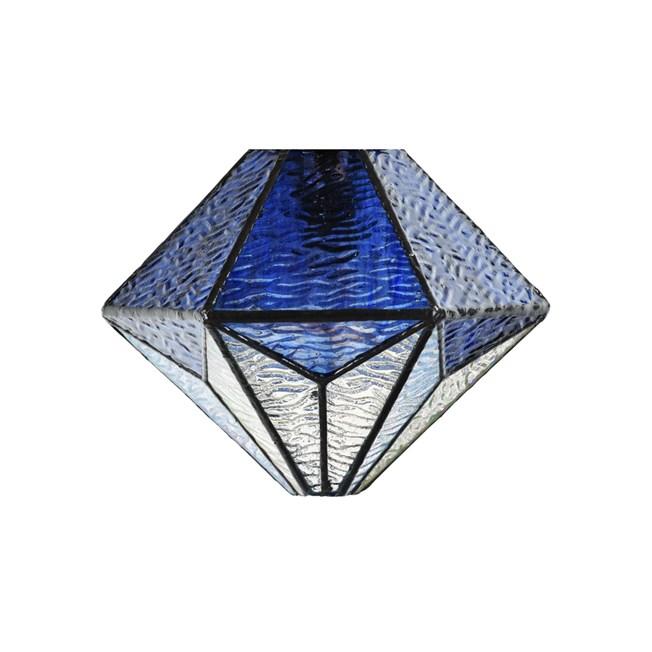 Losse Glaskap Tiffany Akira Blue - Uit