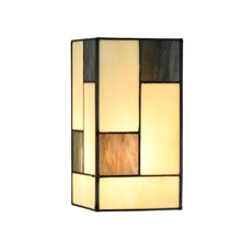 Losse Glaskap Tiffany Mondriaan small