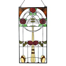 Mackintosh Rose Tiffany Paneel