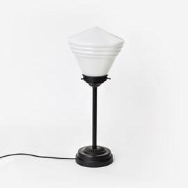 Slanke Tafellamp Luxe School Opaal Moonlight