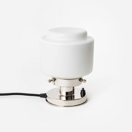 Tafellamp Getrapte Cilinder Small 20's Nikkel