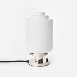 Tafellamp Getrapte Cilinder 20's Nikkel