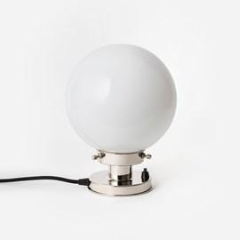 Tafellamp Bol Ø 20 20's Nikkel