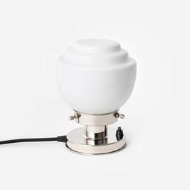 Tafellamp Gispen Vlak 20's Nikkel