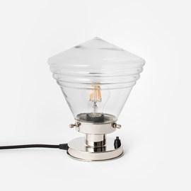 Tafellamp Luxe School Small Helder 20's Nikkel