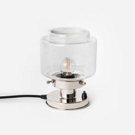 Tafellamp Getrapte Cilinder Small Helder 20's Nikkel