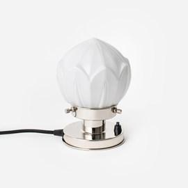 Tafellamp Lotus 20's Nikkel