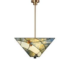 Tiffany Strakke Hanglamp Sky Blue