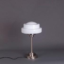 Tafellamp Halve Getrapte Bol