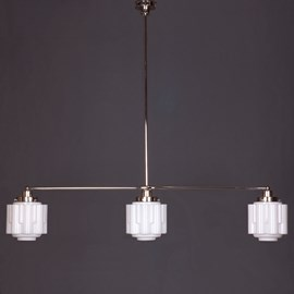 Hanglamp 3-Lichts met Glaskappen Circle