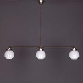 Hanglamp 3-Lichts met Deco Vlak