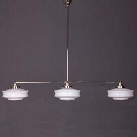 Hanglamp 3-Lichts met Glaskappen Bing