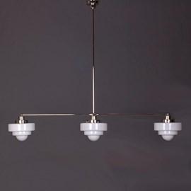 Hanglamp 3-Lichts met Glaskappen Lorm