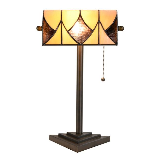 Tiffany Banker Tafellamp Parabola