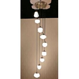 9-Lichts Vide Lamp / Kroonluchter