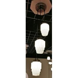 3-Lichts Vide Lamp / Kroonluchter