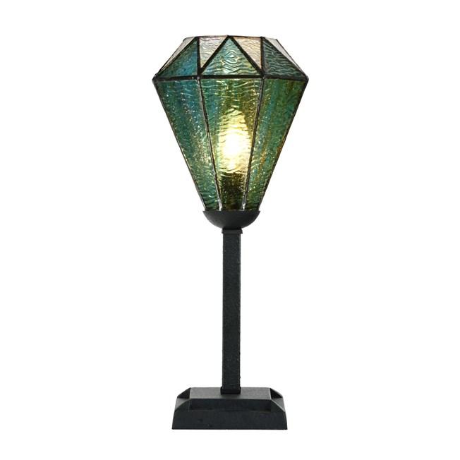 Tiffany Tafellamp Arata Green - Aan