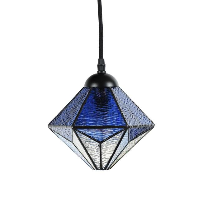 Tiffany Hanglamp Akira Blue - Uit