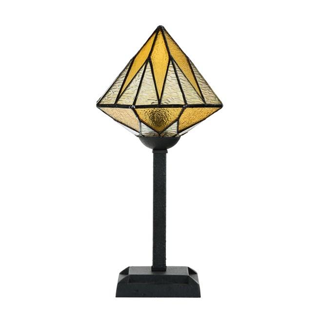 Tiffany Tafellamp Aiko Yellow - Uit