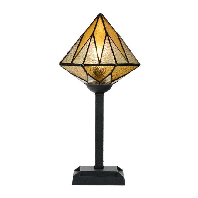 Tiffany Tafellamp Aiko Yellow - Aan