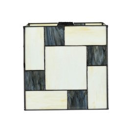 Losse Glaskap Tiffany Mondriaan Kubus