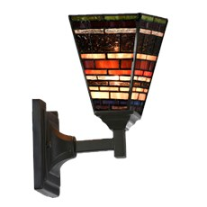 Tiffany Wandlamp Industrial Quadrat