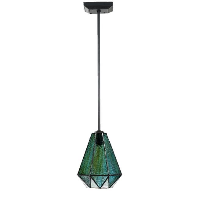 Tiffany Hanglamp Arata Green Pendel  - uit