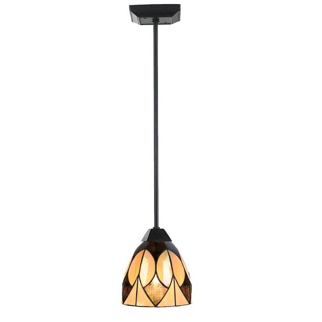 Tiffany Hanglamp Parabola pendel rond small  -aan