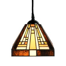 Tiffany Hanglamp Rising Sun small