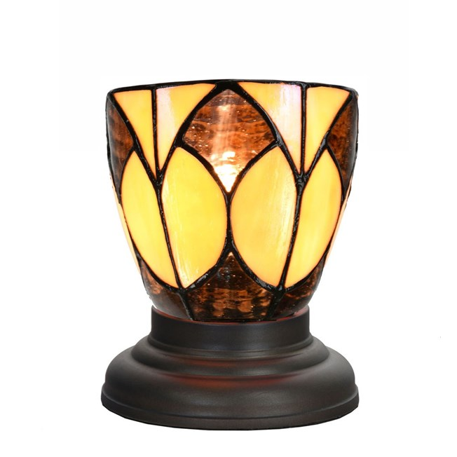 Laag Tiffany Tafellampje Parabola small