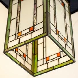 Tiffany Hanglamp Frank Lloyd Wright Orange